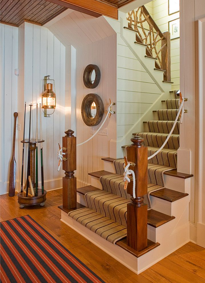 Ashley Furniture Columbia Sc for a Traditional Staircase with a Paddle and William T Baker Houses by William T Baker