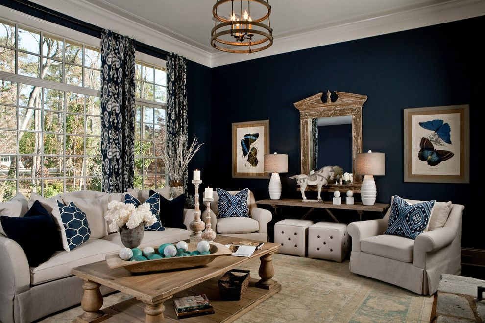 Ashley Furniture Columbia Sc for a Transitional Living Room with a Lantern and Parade of Homes 2012 by Lgb Interiors