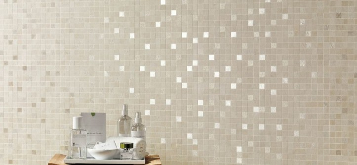 Atlas Concorde for a Contemporary Bathroom with a Porcelain and Evolve Mosaic by AKDO