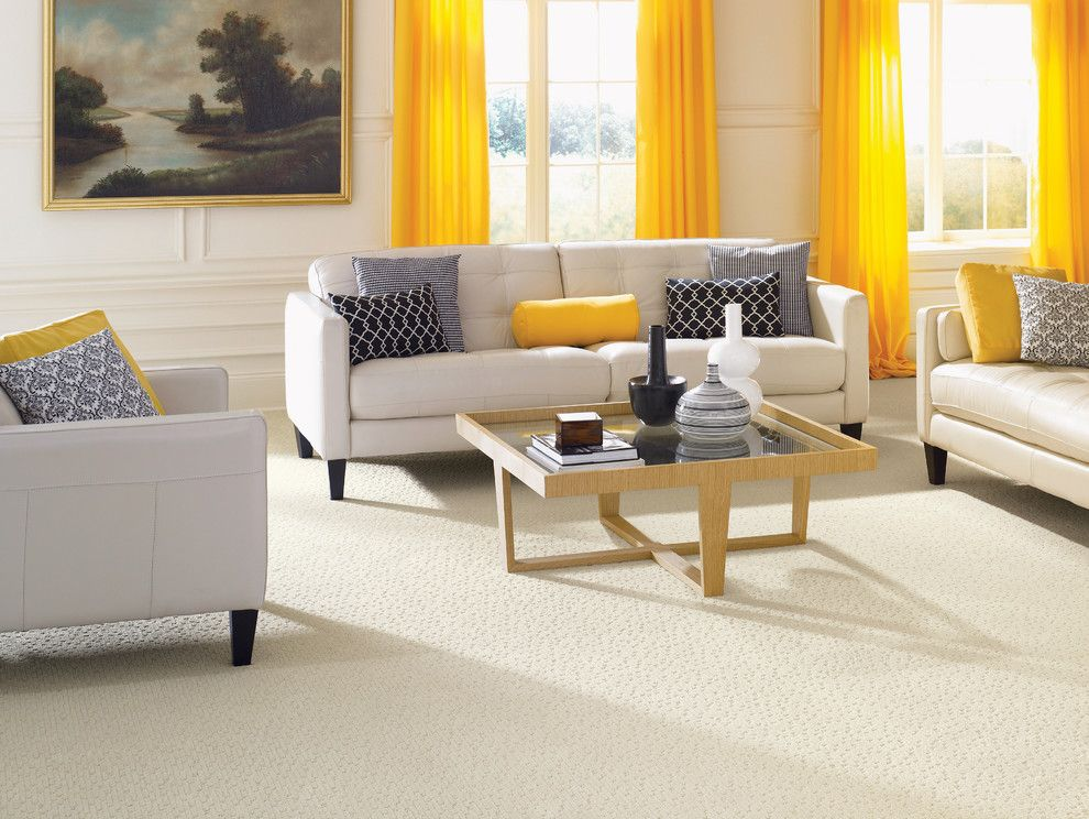 Avalon Flooring for a Contemporary Living Room with a Living Room and Living Room Carpet by Avalon Flooring