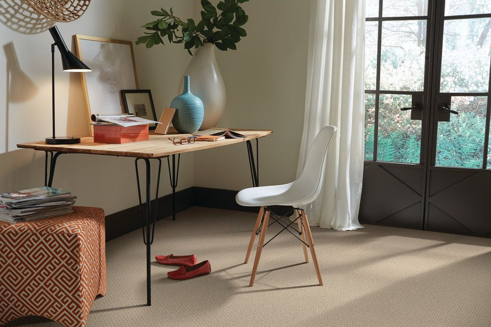 Avalon Flooring for a  Home Office with a Tuftex Carpets and Den Carpeting by Avalon Flooring