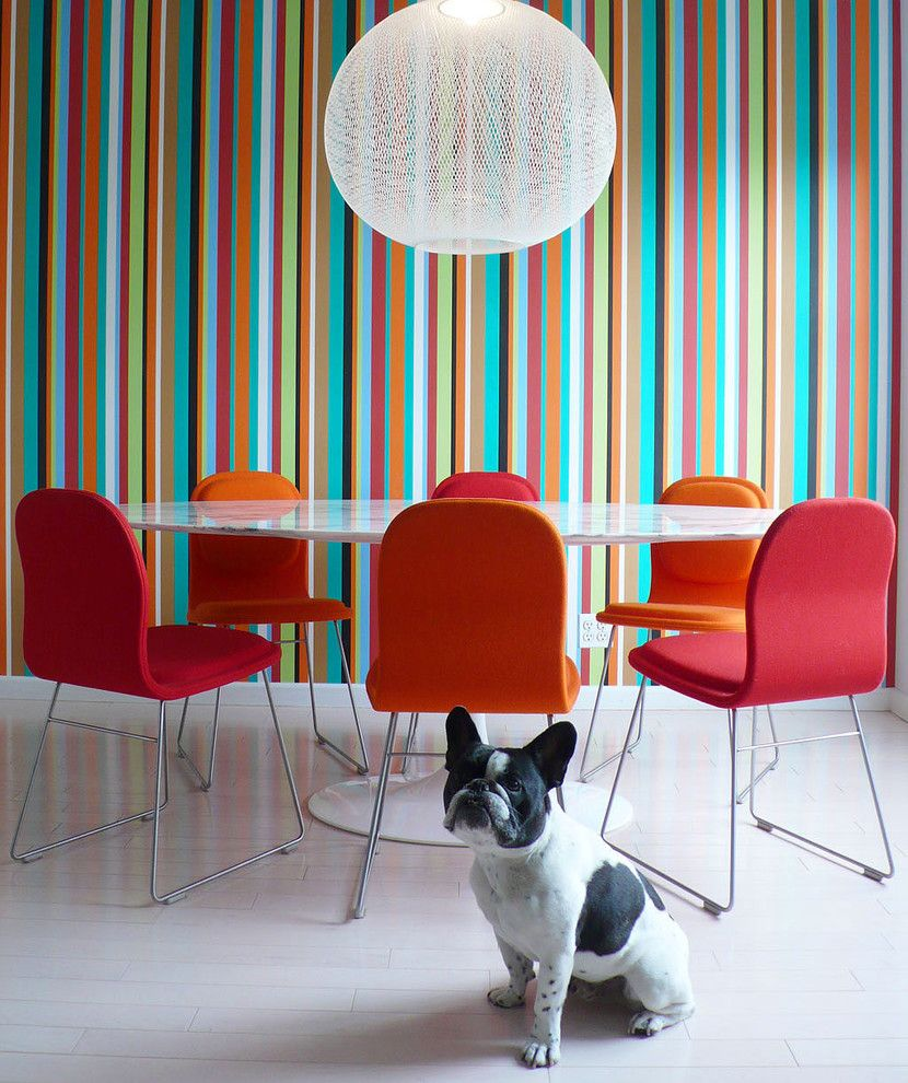 Axis Mundi for a Contemporary Dining Room with a Mooii and Axis Mundi by Axis Mundi