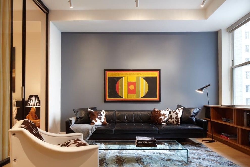 Axis Mundi for a Contemporary Living Room with a Standing Lamp and Axis Mundi by Axis Mundi