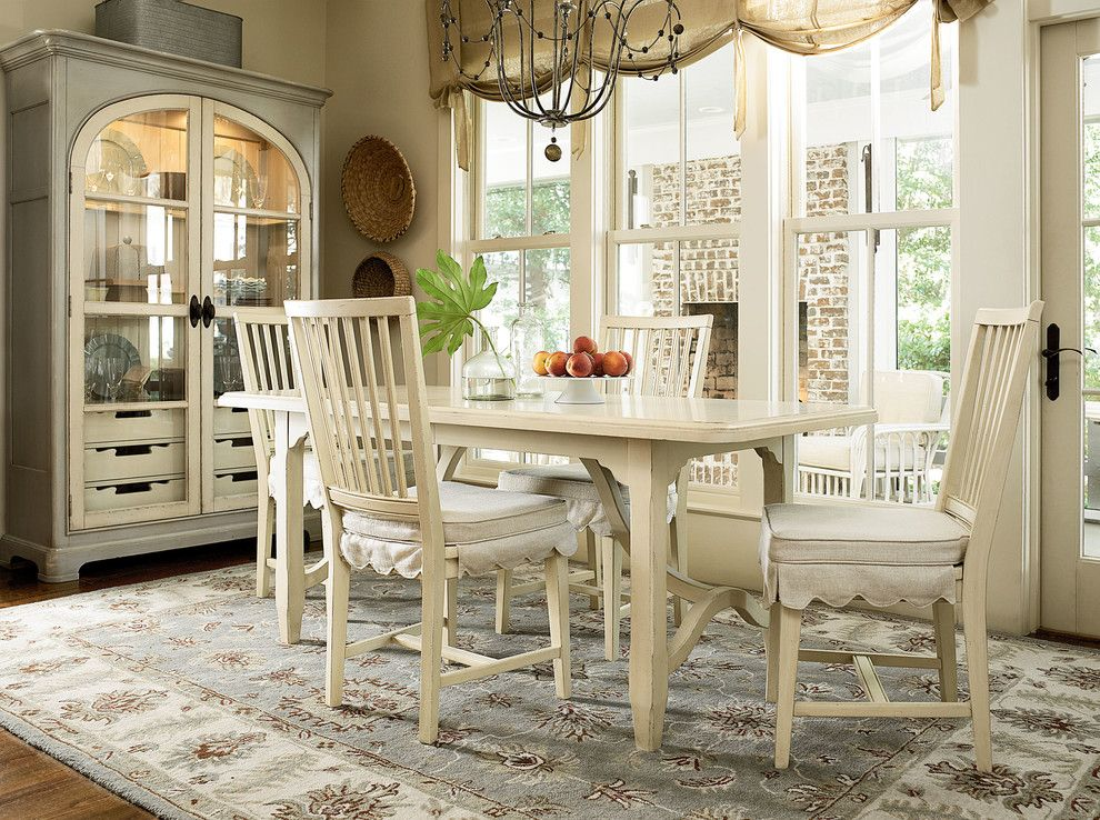 Babettes Furniture for a Farmhouse Dining Room with a Farmhouse and Paula Deen Home Furniture by Babette's Furniture