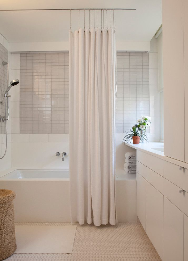 Bach Medical Supply for a Contemporary Bathroom with a Bathtub and Riverside Drive Super Groovy Masterpiece by Rusk Renovations