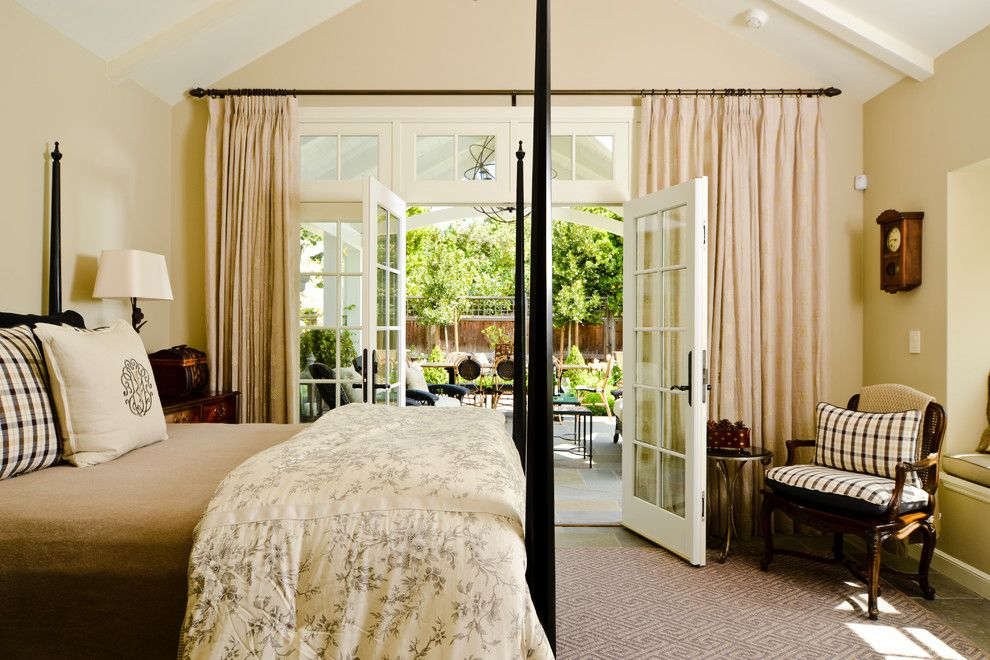 Backyard Masters for a Craftsman Bedroom with a French Doors and Santa Rita Cottage by Fgy Architects