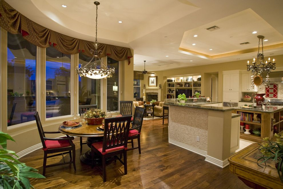 Barndominium Floor Plans for a Traditional Kitchen with a Ceiling Lighting and Custom Home by Lili Fleming Nieri, Asid