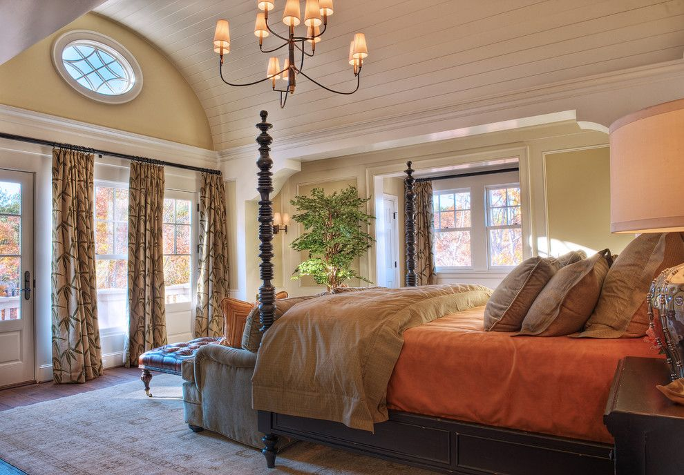 Barrel Vault for a Beach Style Bedroom with a Wood Flooring and Gabriel Builders by Gabriel Builders Inc.