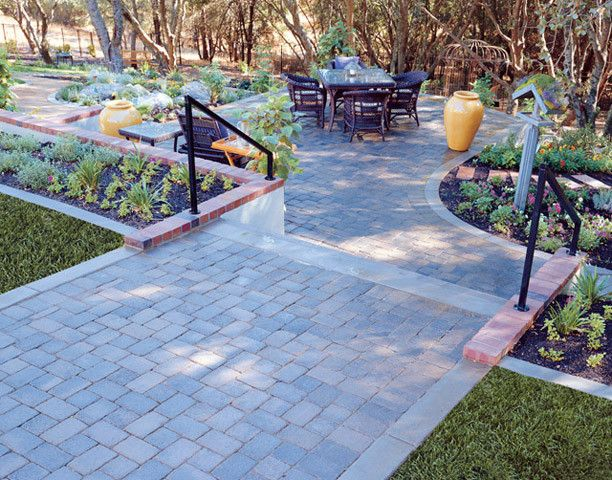 Basalite for a Traditional Landscape with a Pavers and Patio Pavers by Basalite Concrete Products