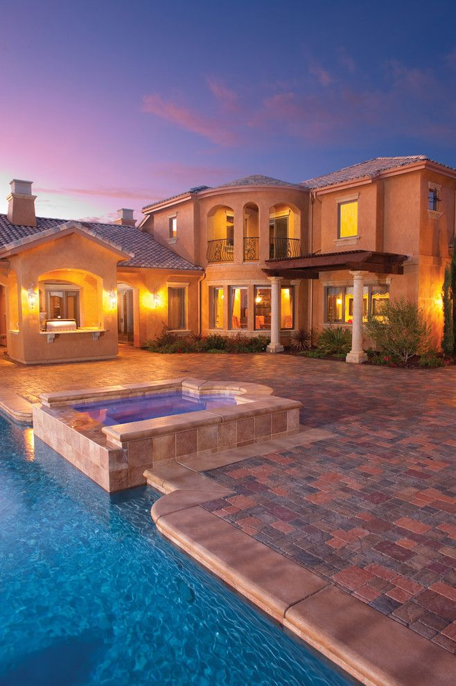 Basalite for a Traditional Pool with a Pavers and Pool and Patio Pavers by Basalite by Basalite Concrete Products