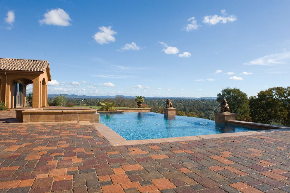Basalite for a Traditional Pool with a Pool Remodel and Pool and Patio Pavers by Basalite by Basalite Concrete Products