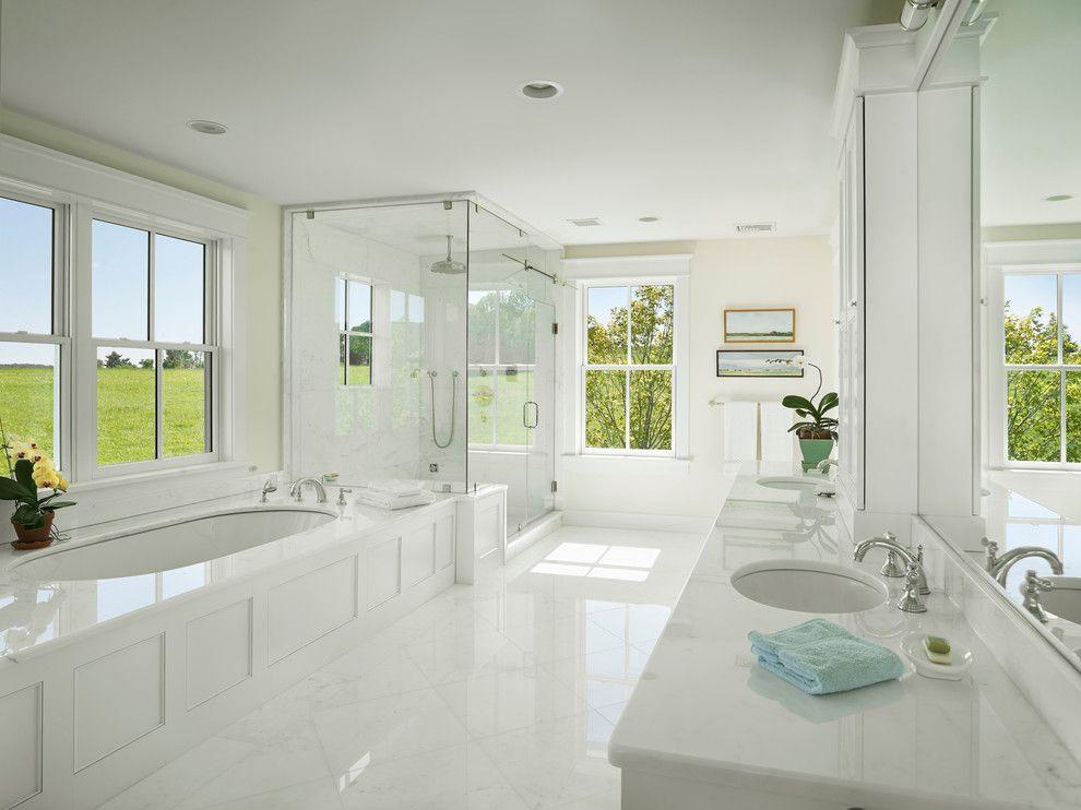 Bathroom Layouts for a Farmhouse Bathroom with a Large Bathroom and Farmhouse Bathroom by Hone.biz