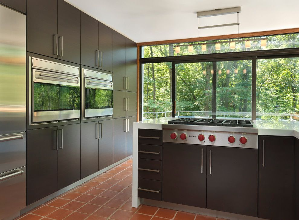 B&b Appliance for a Modern Kitchen with a Subzero and Modern Kitchen by Ri Kitchen & Bath