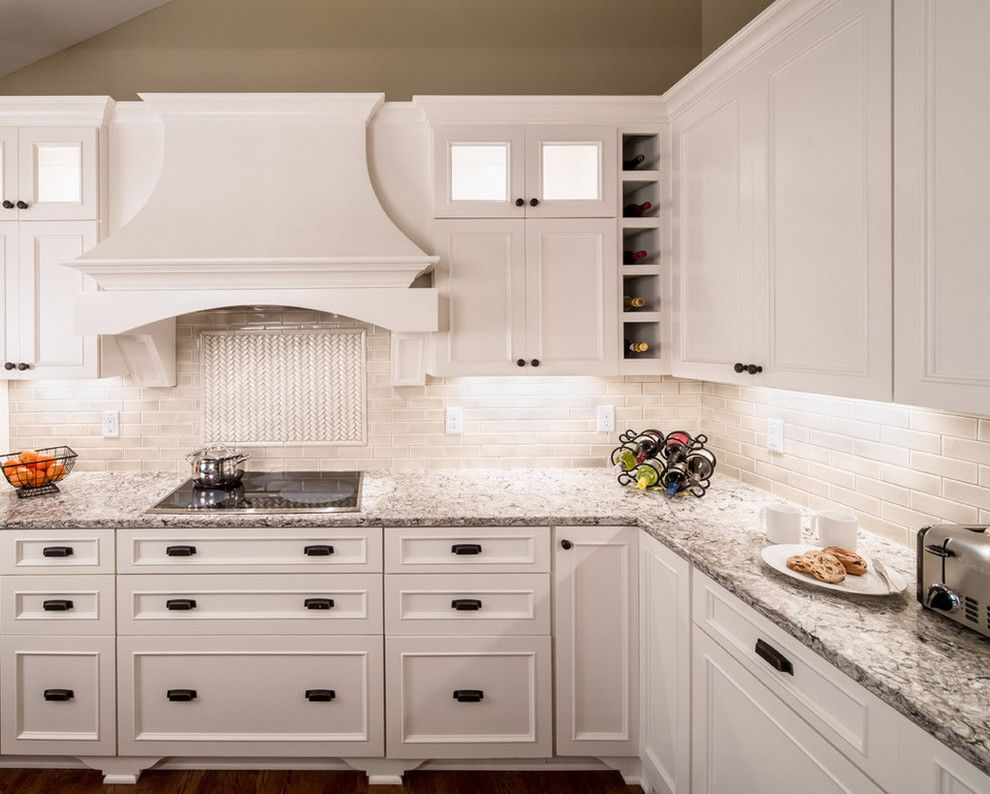 Beaver Tile for a Transitional Kitchen with a Handmade Tile and Kitchens by Beaver Tile and Stone