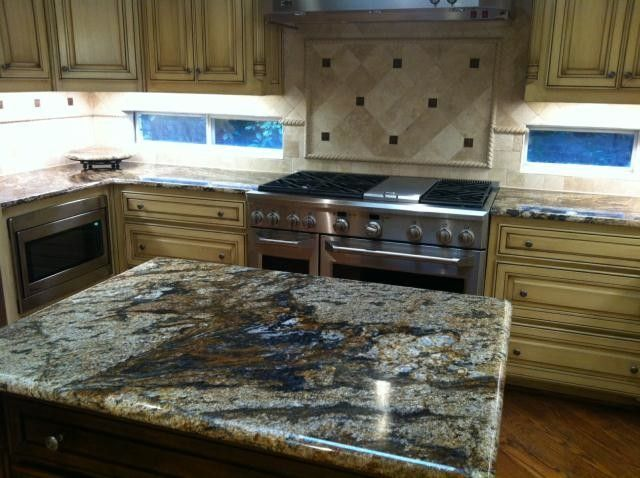 Bedrock Granite for a  Spaces with a  and My Work by Bedrock Marble & Granite, Inc.