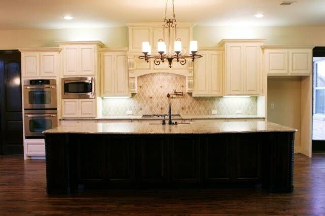 Bedrock Granite for a Traditional Kitchen with a Kitchen Chandelier and My Work by Bedrock Marble & Granite, Inc.