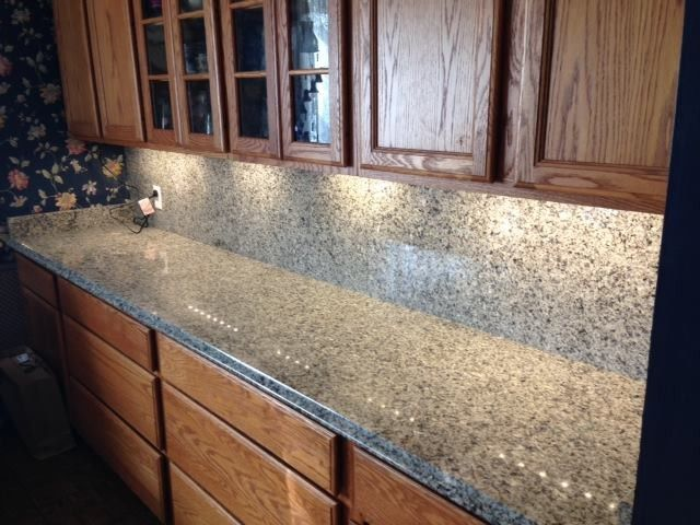 Bedrock Granite for a Transitional Kitchen with a Kitchen and Kitchens by Bedrock Granite Company