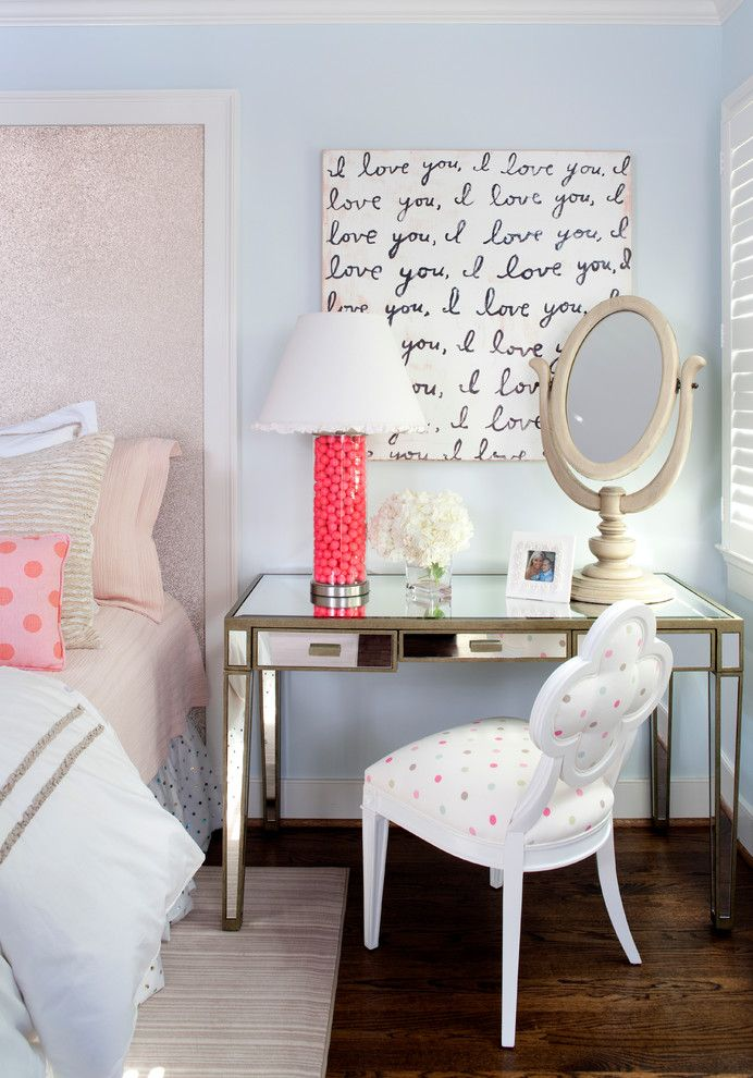 Bedroom Color Schemes for a Eclectic Bedroom with a Shutters and Eclectic Bedroom by Kristin Peake Interiors, Llc