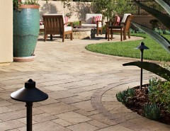 Belgard Pavers for a Contemporary Landscape with a Belgard Pavers and Wayne Weeks NEW Paver Patio & Outdoor Living Space by INSTALL-IT-DIRECT