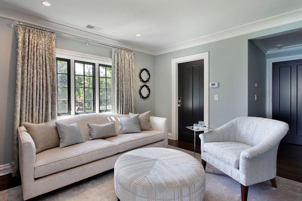 Benjamin Moore Beach Glass for a Contemporary Bedroom with a Contemporary and Contemporary Bedroom by 2designgroup.com