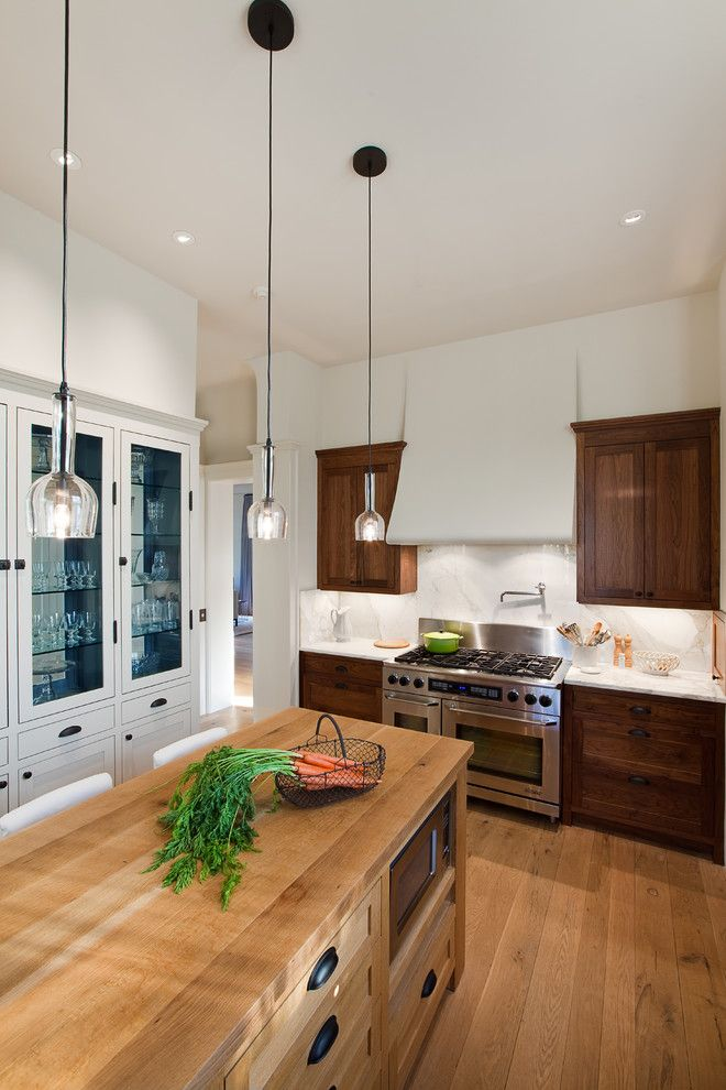 Berger Appliance for a Traditional Kitchen with a Kitchen Hardware and Urban Homestead by Tim Cuppett Architects