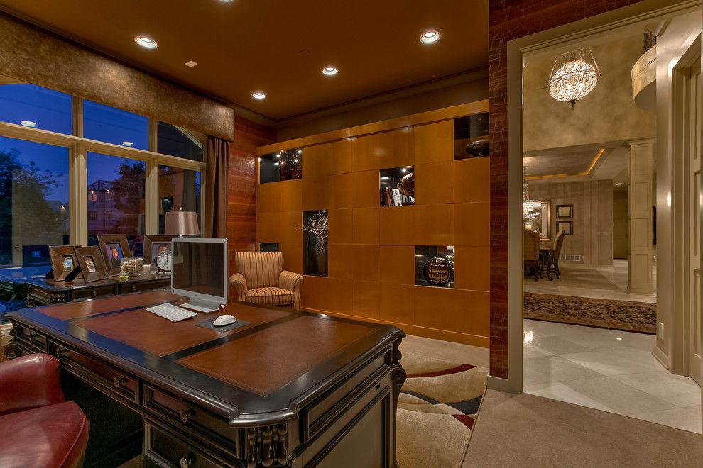 Berkshire Hathaway Real Estate Omaha for a Contemporary Home Office with a Real Estate Photography and Best of Omaha 2015 by Amoura Productions