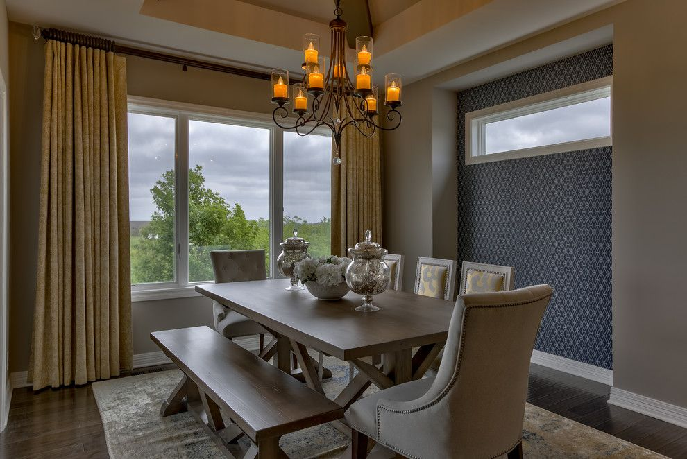 Berkshire Hathaway Real Estate Omaha for a Transitional Dining Room with a Real Estate Photography and Best of Omaha 2015 by Amoura Productions