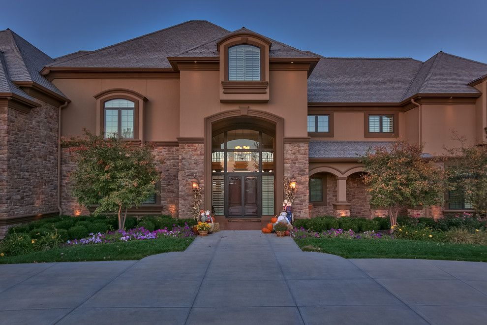 Berkshire Hathaway Real Estate Omaha for a Transitional Exterior with a Interior Design and Best of Omaha 2015 by Amoura Productions