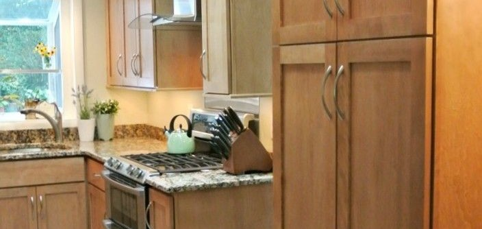 Bertch for a Traditional Kitchen with a Bertch and Bertch Kitchen with Sunroom by RJK Construction Inc