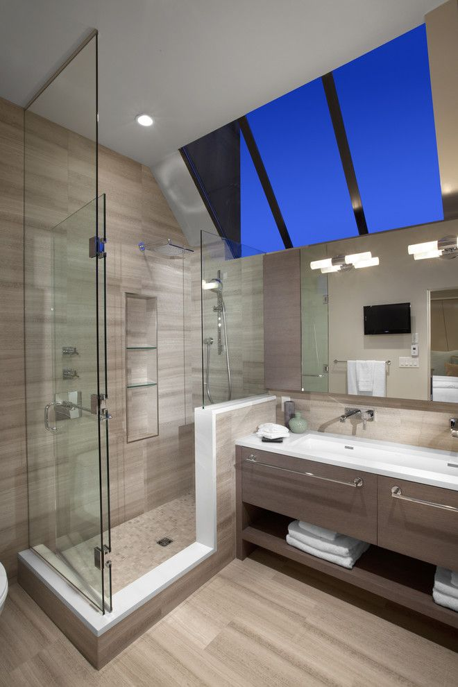Best Buy Grapevine for a Contemporary Bathroom with a Stales Steel Faucet and Best Builders Ltd by Best Builders Ltd