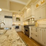 Bianco Romano Granite by Monetti Custom Homes