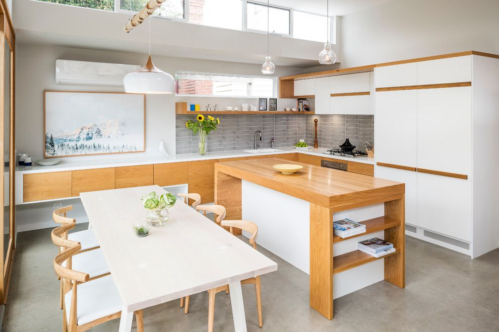 Bill Smith Appliances for a Contemporary Kitchen with a Modern Kitchen and Portfolio by Smith & Smith Kitchens