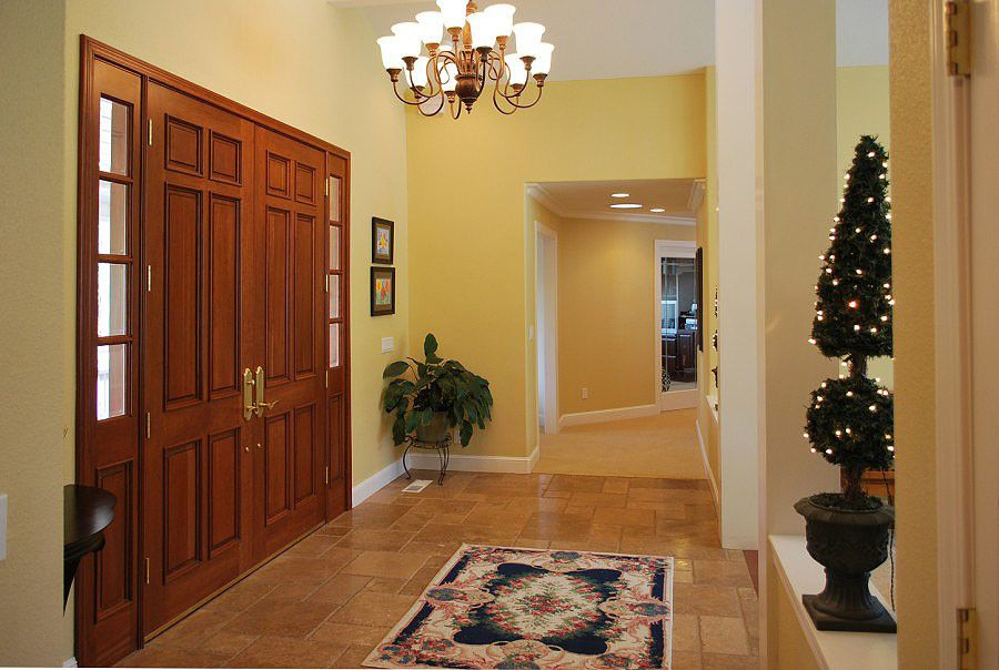 Blackhawk Hardware for a Traditional Entry with a Side Lights and Doors and Blackhawk Estate by Amarant Design and Build Center