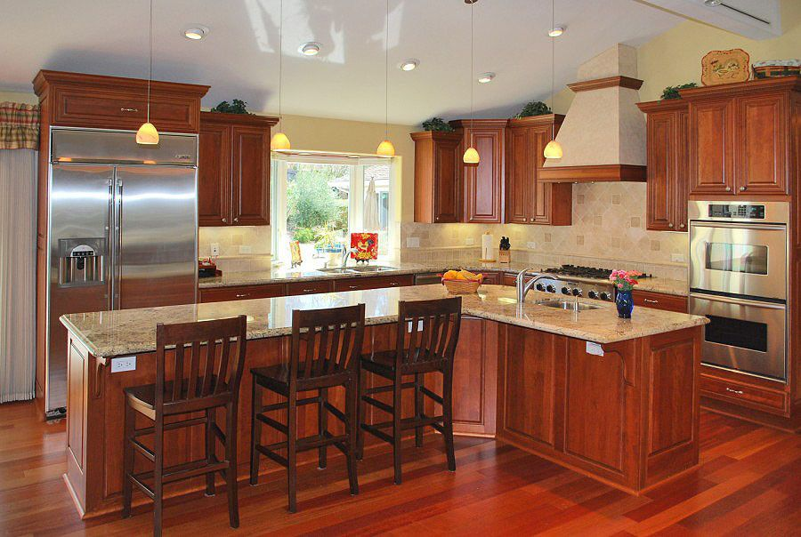 Blackhawk Hardware for a Traditional Kitchen with a Apron Sink Backsplashes Ceiling Ligh and Blackhawk Estate by Amarant Design and Build Center