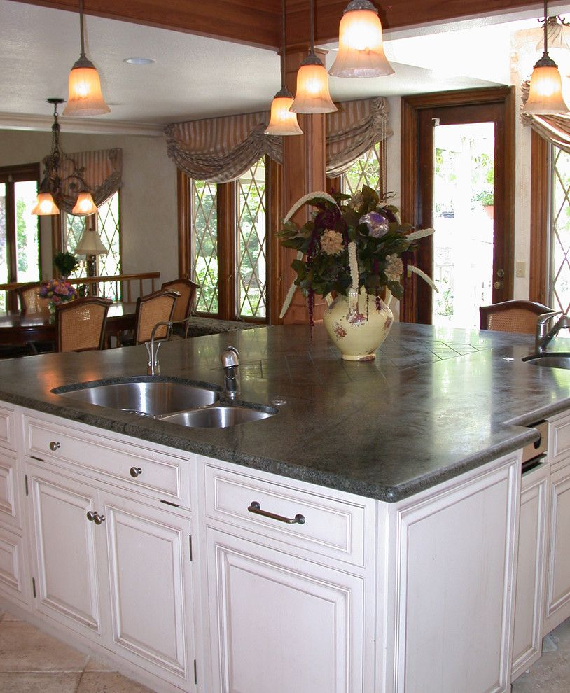 Blackhawk Hardware for a Traditional Kitchen with a Kitchen Island Light and Blackhawk Kitchen by First Impressions Interior Design
