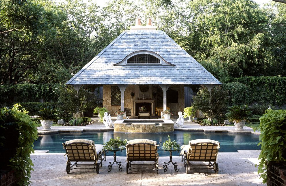 Blue Hawaiian Pools for a Traditional Pool with a Wood Post and Swimming Pool Portfolio by Harold Leidner Landscape Architects