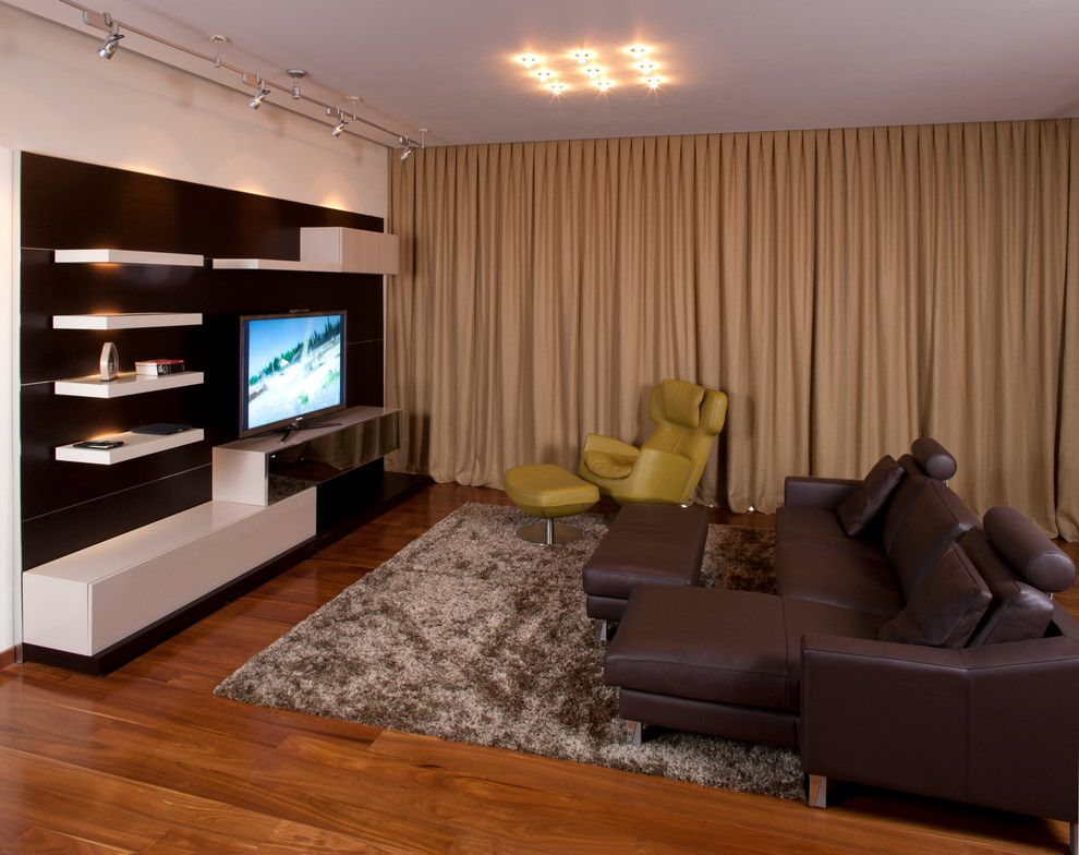 Blueprint Dallas for a Contemporary Living Room with a Entertainment and Gte House by Cantoni