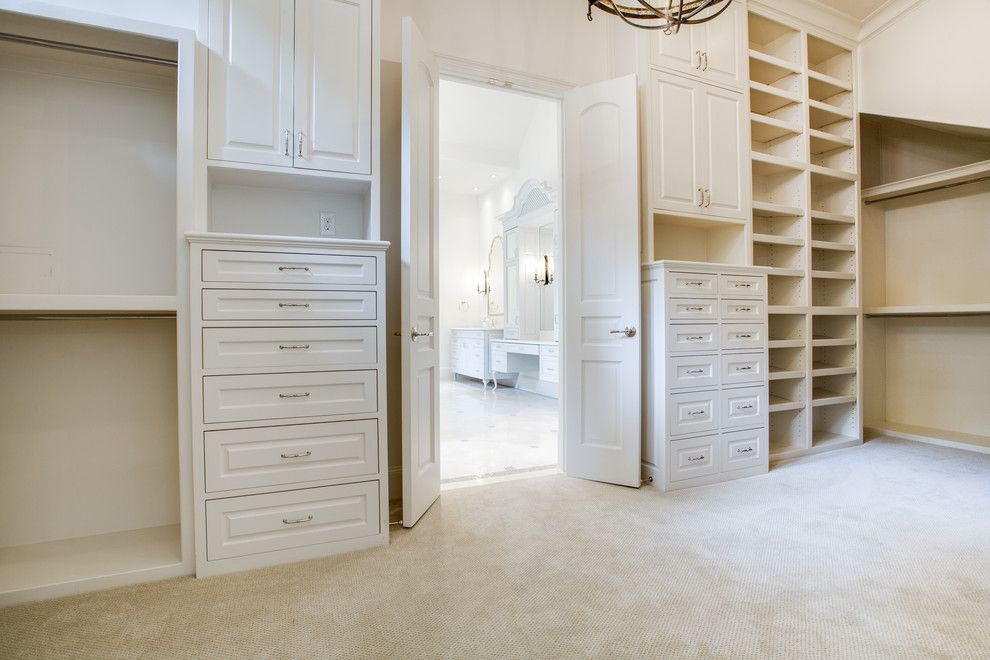 Blueprint Dallas for a Traditional Closet with a Traditional and Desco by Danes Custom Homes