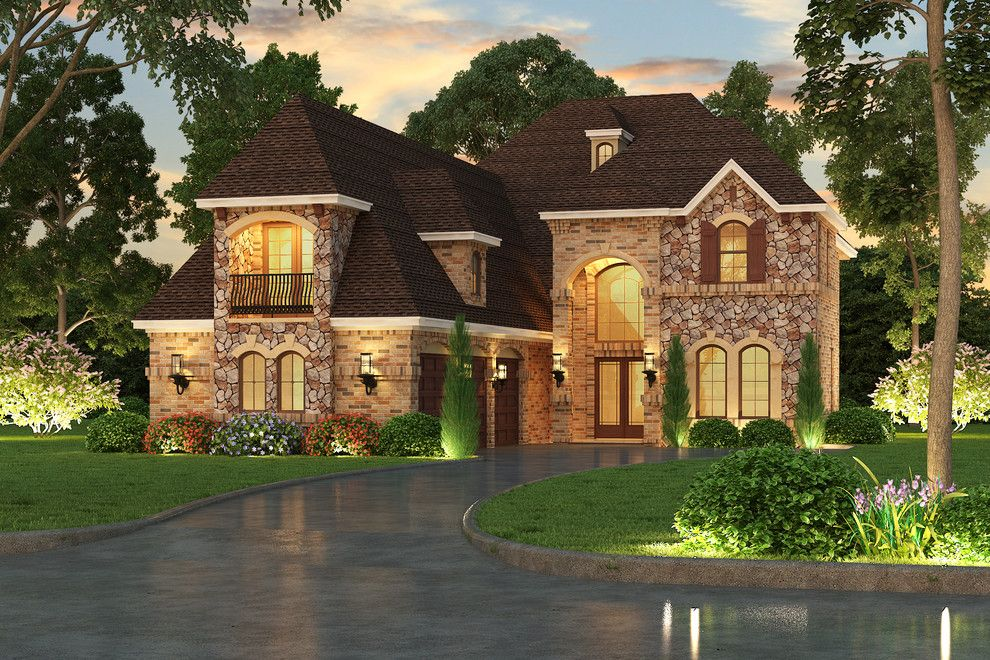 Blueprint Dallas for a Traditional Exterior with a Architect and
