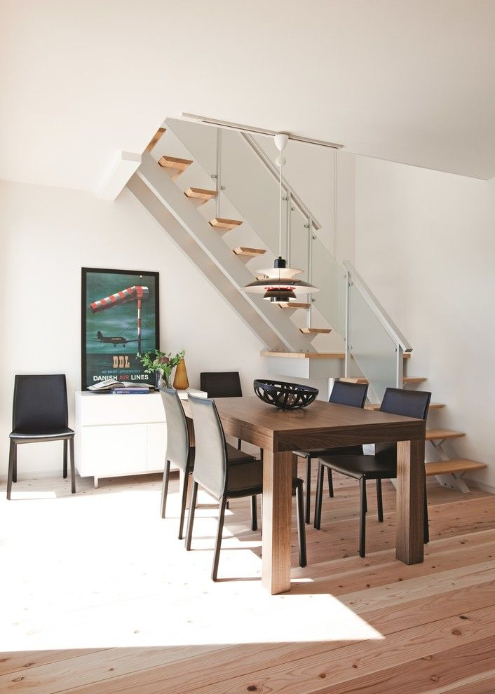 Bo Concept for a Contemporary Dining Room with a Somerset and Boconcept Extendible Table by Boconcept Bristol