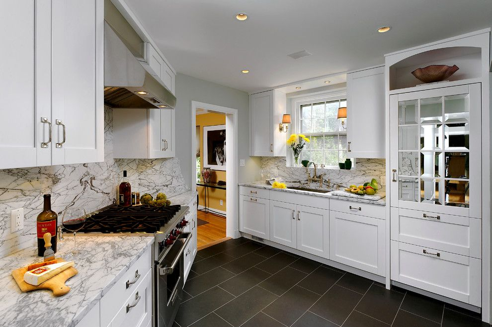 Bob Wallace Appliance for a Traditional Kitchen with a Sconce and Kitchens by Bob Narod, Photographer, Llc