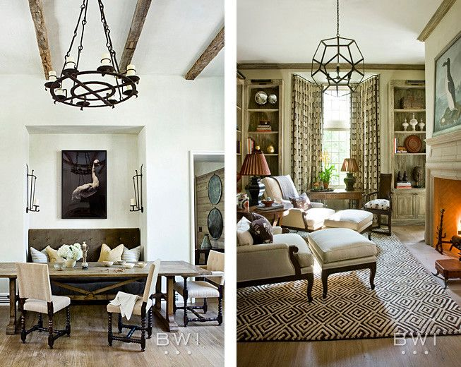 Bobo Intriguing Objects for a Mediterranean Spaces with a Mediterranean and Buckhead Manor by Beth Webb Interiors