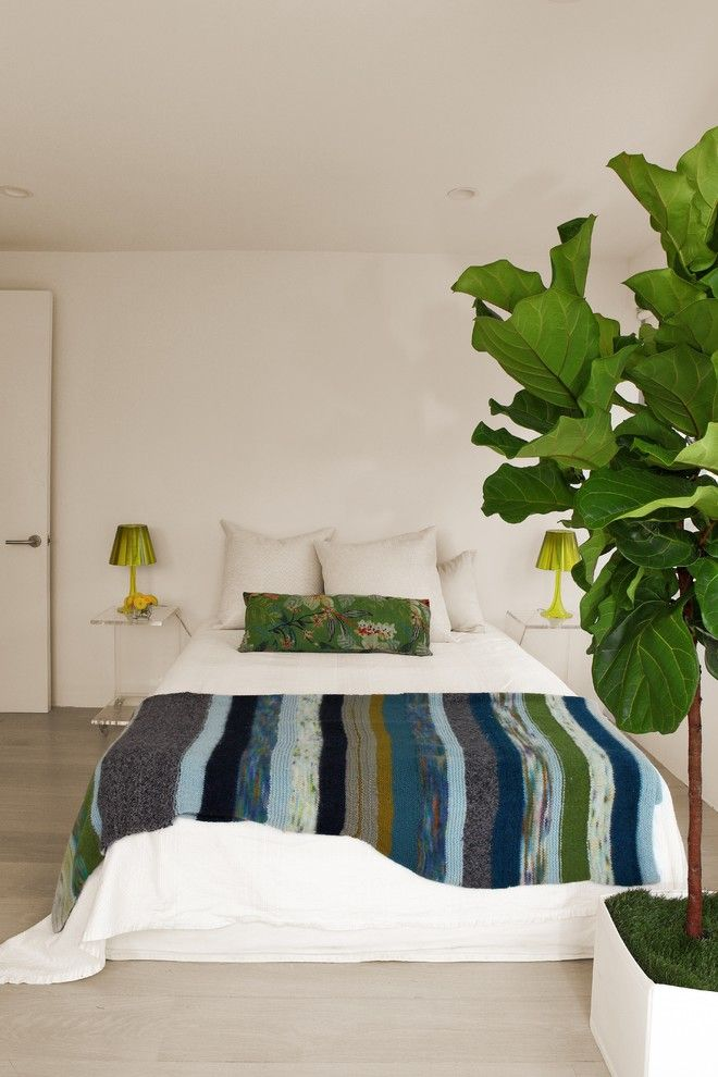 Bohemian Bedroom for a Scandinavian Bedroom with a Modern and Manhattan Penthouse by Cezign