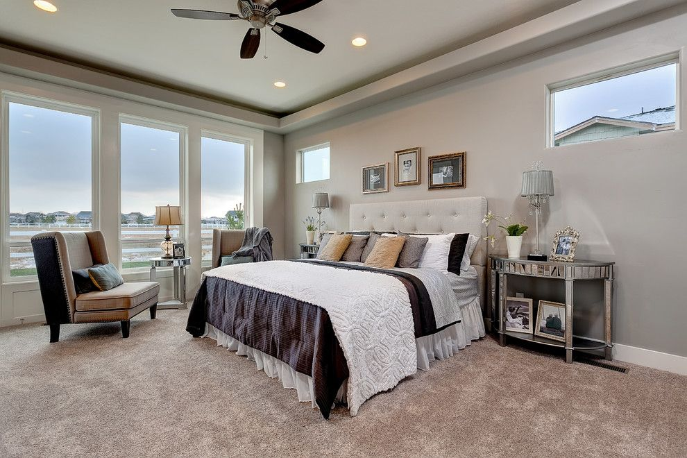 Boise Hunter Homes for a Traditional Bedroom with a New Homes and the Stratford by Boise Hunter Homes