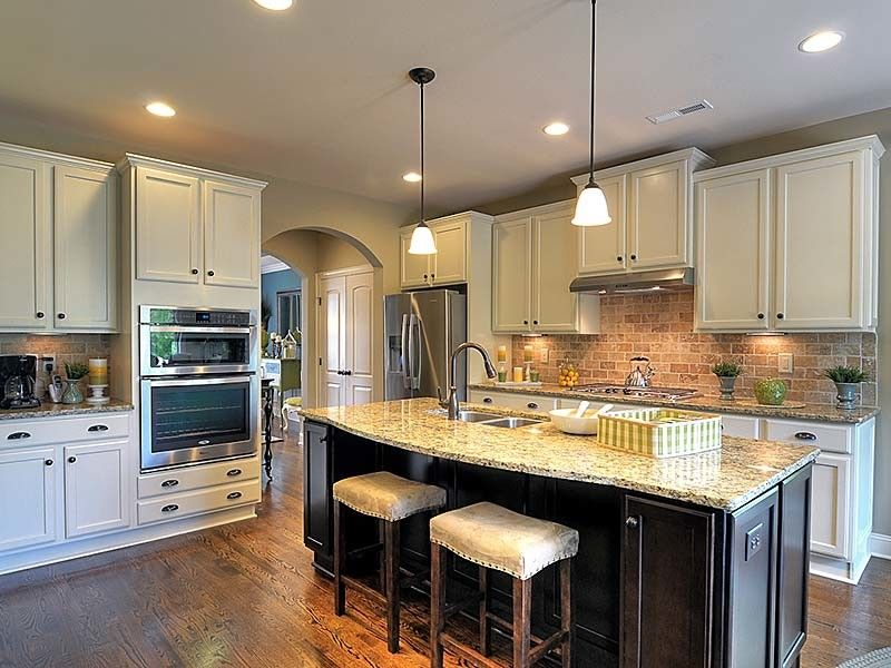 Bonterra Builders for a Traditional Kitchen with a Granite Counters and Interiors by Bonterra Builders