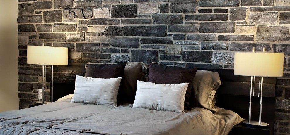 Boral Cultured Stone for a  Spaces with a Textured Walls and Boral Cultured Stone by Silverado Building Materials