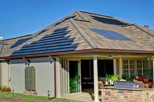 Boral Roofing for a Contemporary Spaces with a Net Zero Home and the Kb Home Greenhouse Builder Concept Home by Boral Roofing