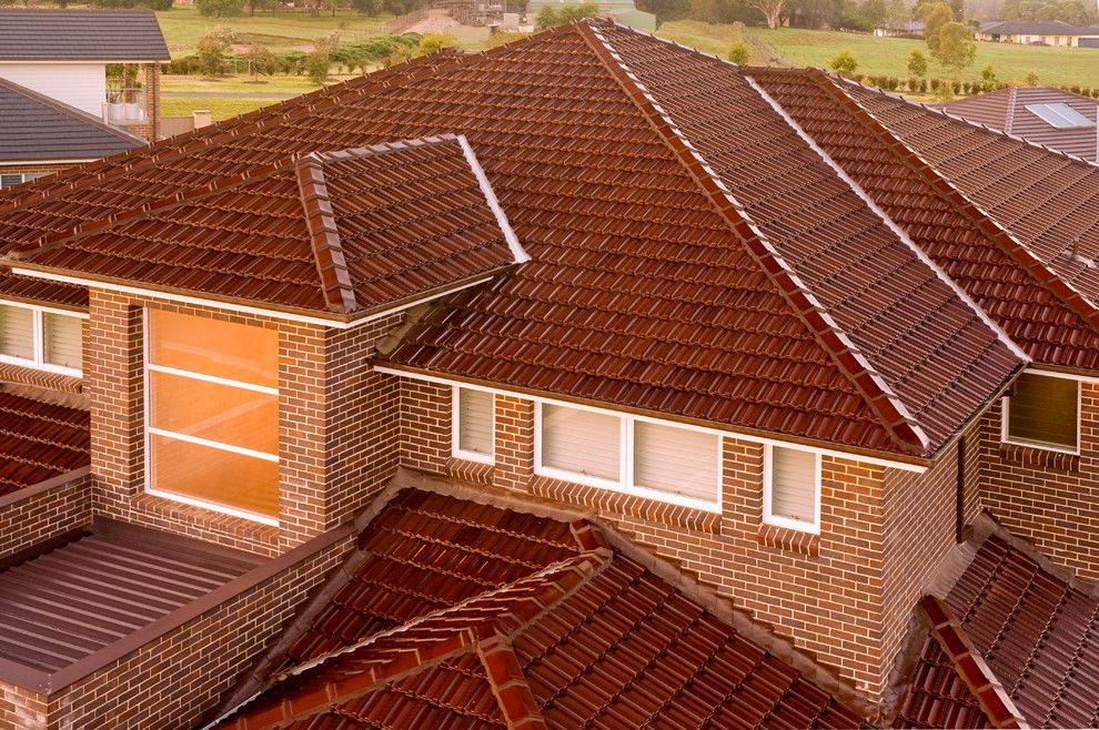 Boral Roofing for a Traditional Exterior with a Tiles and Terracotta Roof Tiles by Boral Roofing Australia