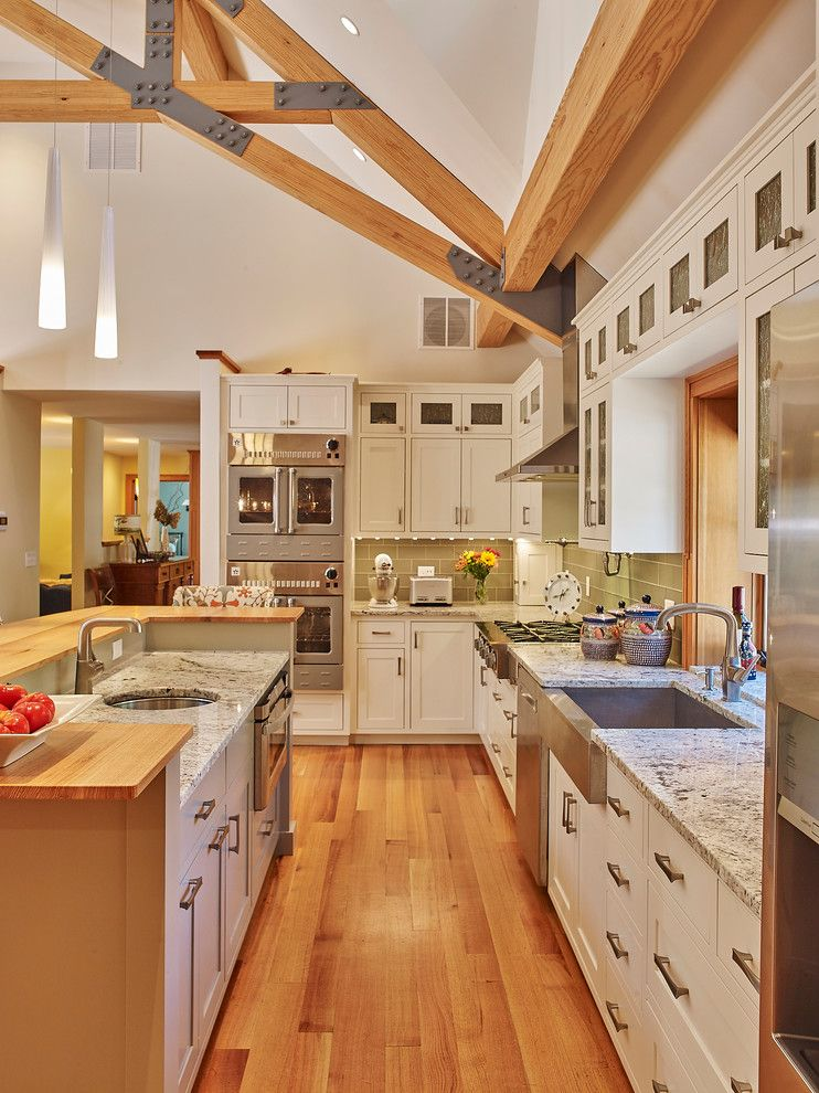Boston Granite Exchange For A Traditional Kitchen With A Double Sink  Kitchen And Novak Ii By