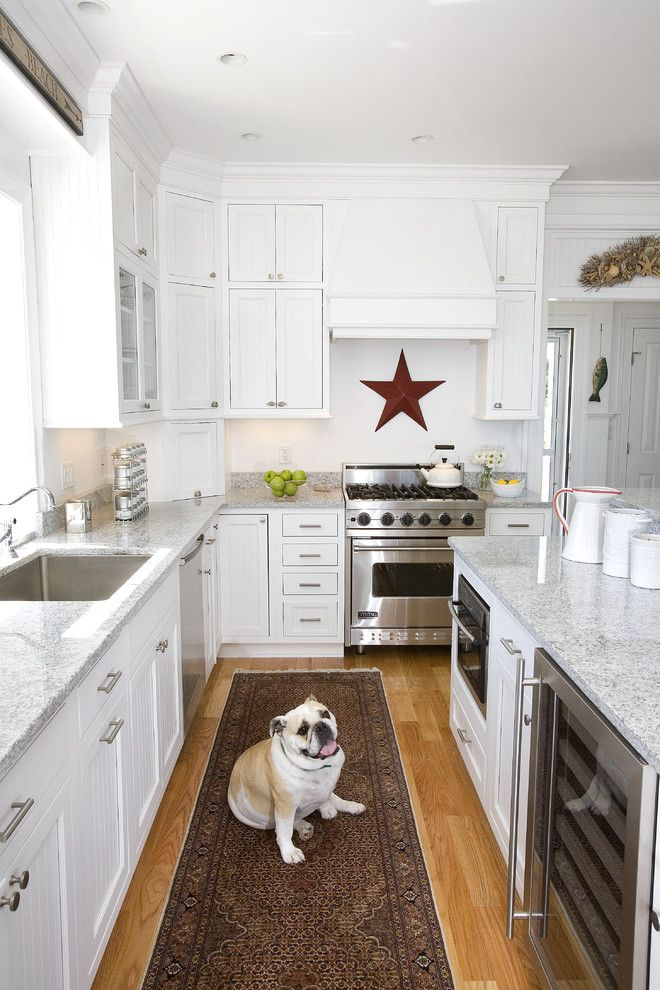 Boston Granite Exchange for a Traditional Kitchen with a Pets and Dog Lover's Kitchen by the Cabinetry